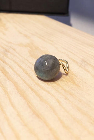 Gembud Dark Semi Precious Stone 9kt Gold Ring (5 styles available) - Gem & Tonic