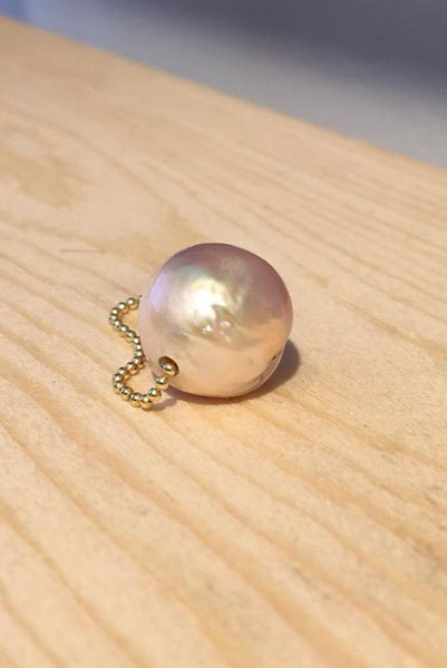 Gembud Freshwater Pearl 9kt Gold Ring (4 pearl styles available) - Gem & Tonic