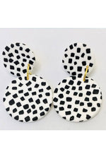 Go Dotty Medium Earrings - No Shrinking Violet