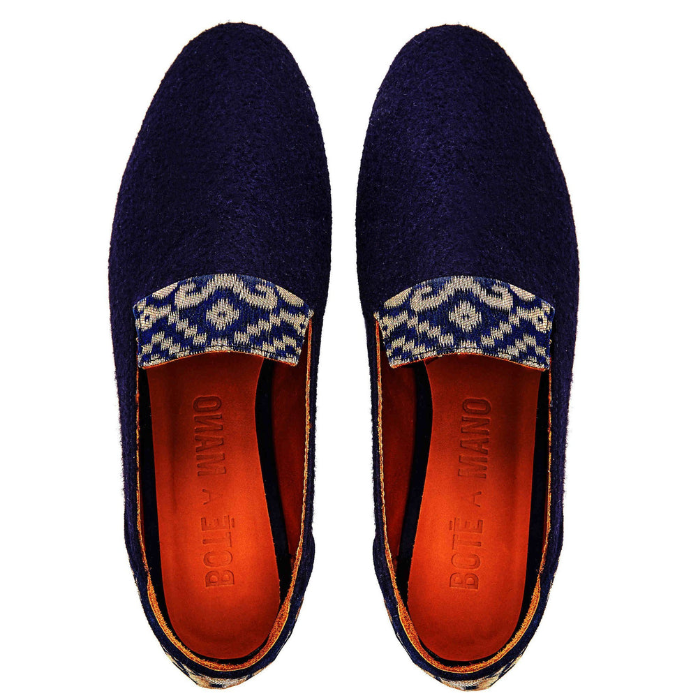 Golden Star of Banaras Flat Loafers - Bote A Mano at The Bias Cut