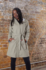 Modstrom Harry Light Khaki Hooded Jacket
