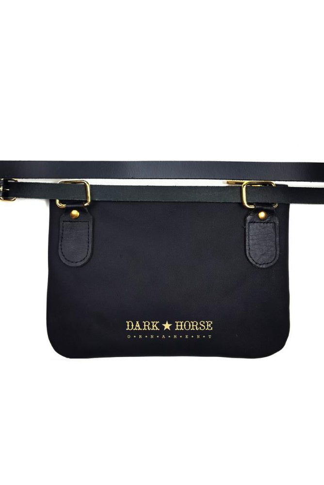 Heartbreaker Belt Bag/Clutch - Dark Horse Ornament at The Bias Cut