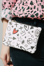 Heartbreaker Belt Bag/Clutch