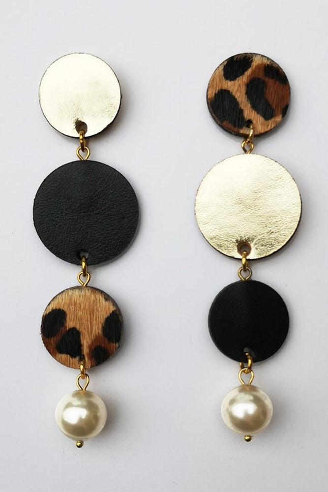 Hera Asymmetric Drop Earrings