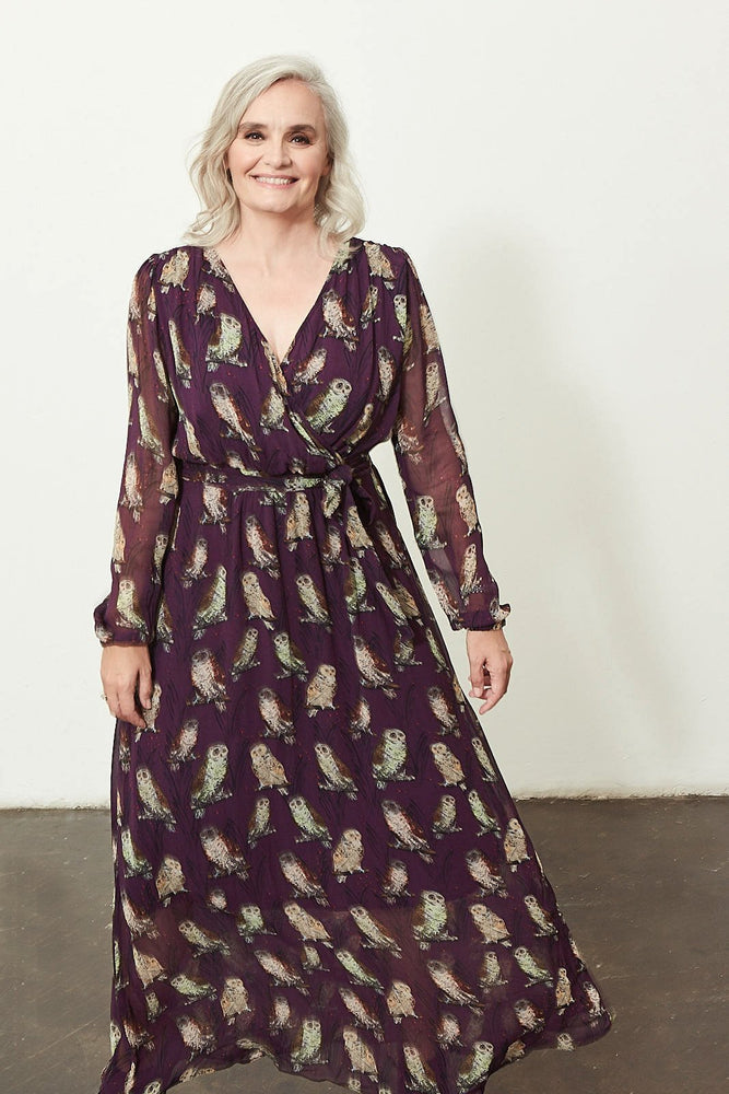 Idyllic Owls Dress - POM Amsterdam