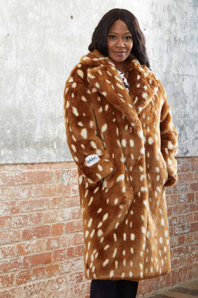 Katie Bambi Faux Fur Coat