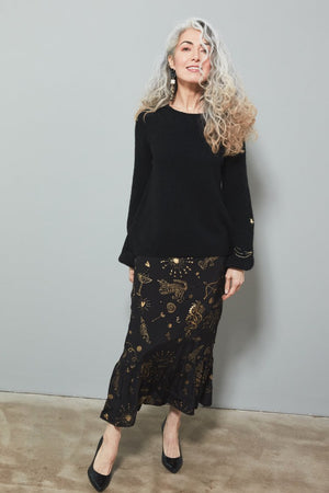 Load image into Gallery viewer, Kyra Paris By Night Skirt Size XL - Fabienne Chapot at The Bias Cut