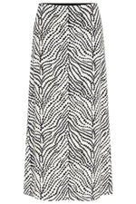 Fabienne Chapot Laurie Zebra Printed Midi Skirt at The Bias Cut