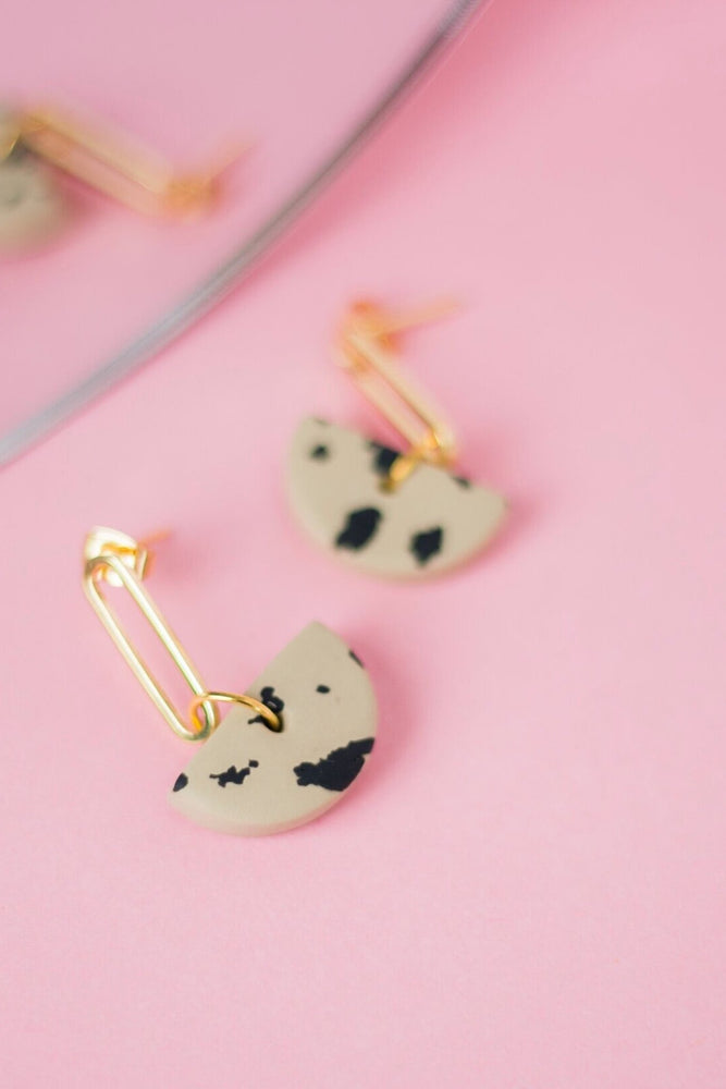 Leopard Earrings - Cloud + Clay at The Bias Cut