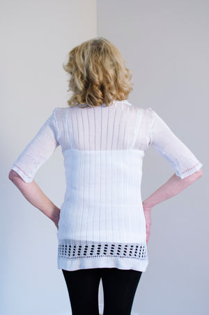 Load image into Gallery viewer, Light Pearl Knitted Tunic - Korlekie