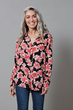 Lily Blouse in Desert Flower Print
