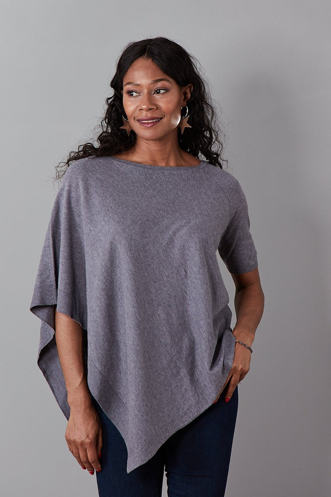 Lobelia Cotton Linen Blend Half-Sleeve Top (available in 2 colours)