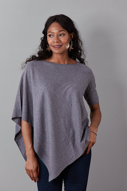 Lobelia Cotton Linen Blend Half-Sleeve Top (available in 2 colours) - Charli