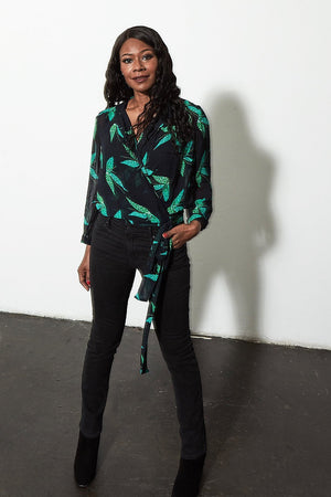 Magic Mints Blouse - POM Amsterdam at The Bias Cut