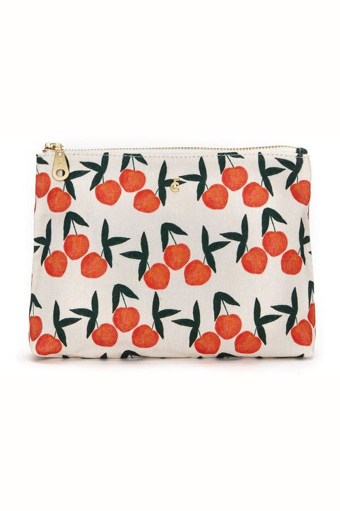 Make Up Bag in Peachy Print