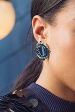 Map Earrings - Milk Tooth at The Bias Cut