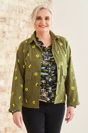 Miss Daisy Amy Jacket - Fabienne Chapot at The Bias Cut