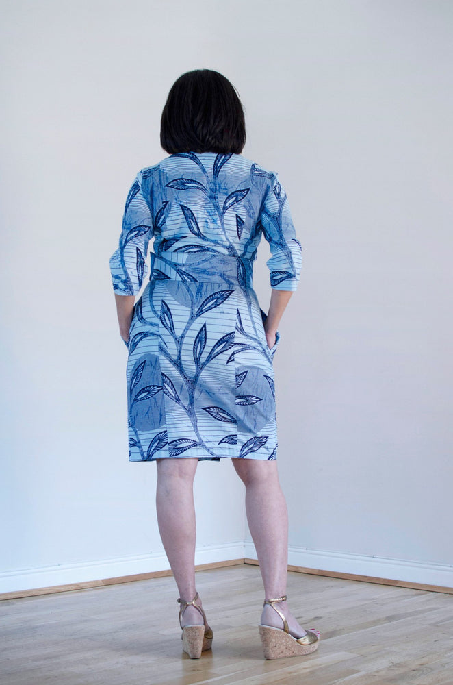 MJ Cotton Dress - Exclusive (available in 2 prints) - Sika