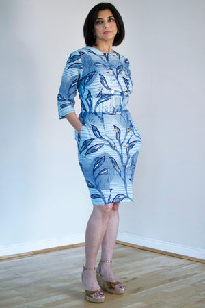 MJ Cotton Dress - Exclusive (available in 2 prints) - Sika at The Bias Cut