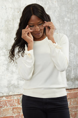 Molly Bow Pullover - Fabienne Chapot at The Bias Cut
