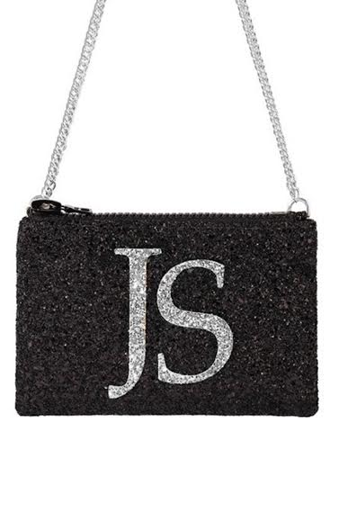Monogram Glitter Cross-body Bag (available in 3 colour ways)