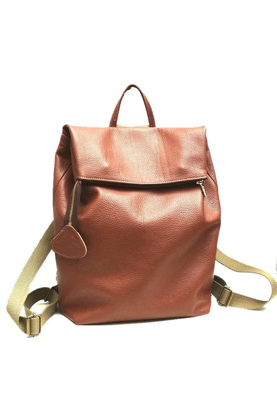 Nancy Woody Leather Rucksack - Coco Barclay