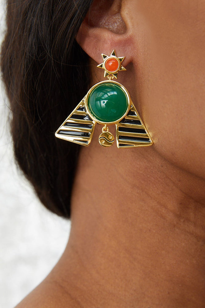 Pharaoh Statement Earrings