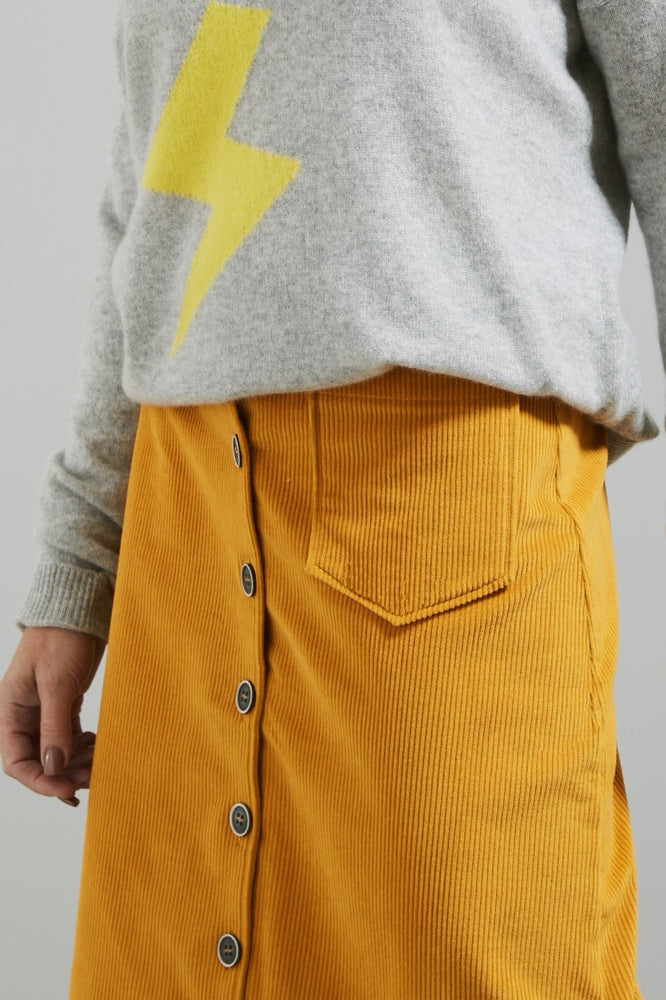 Philippa Curry Corduroy Skirt - Nathalie Vleeschouwer at The Bias Cut
