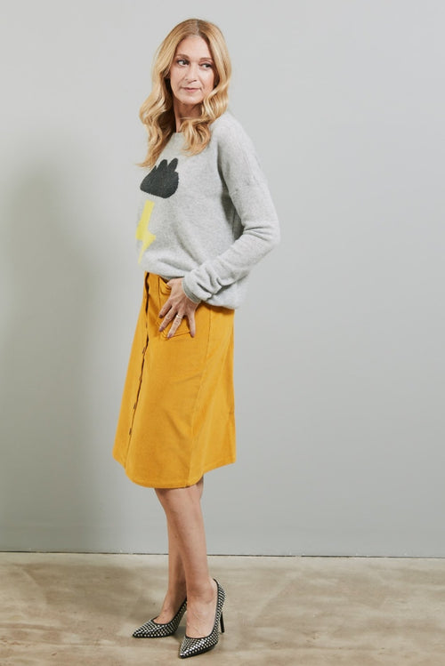 Philippa Curry Corduroy Skirt - Nathalie Vleeschouwer