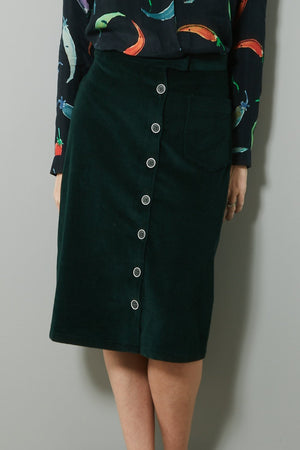 Philippa Forest Corduroy Skirt - Nathalie Vleeschouwer at The Bias Cut