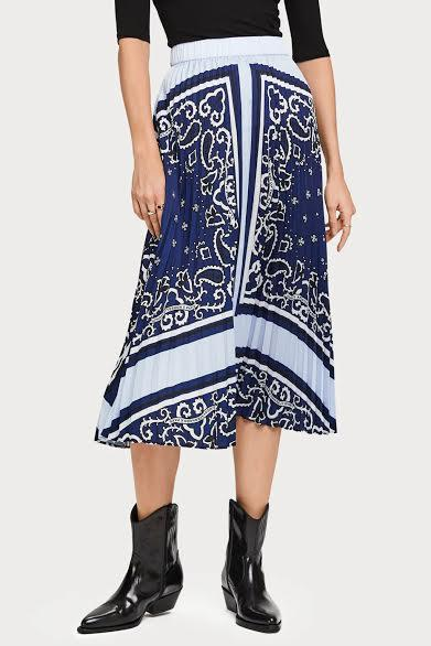 Pleated Plisse Skirt - Scotch & Soda