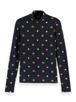 Printed Long Sleeve Starburst Tee - Scotch & Soda at The Bias Cut