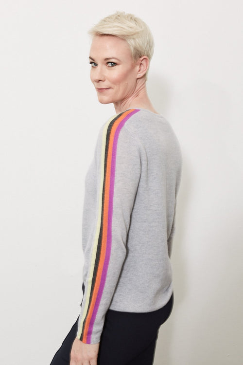 Racer 100% Cashmere Knit 🌈♥️⭐ - Lisa Todd
