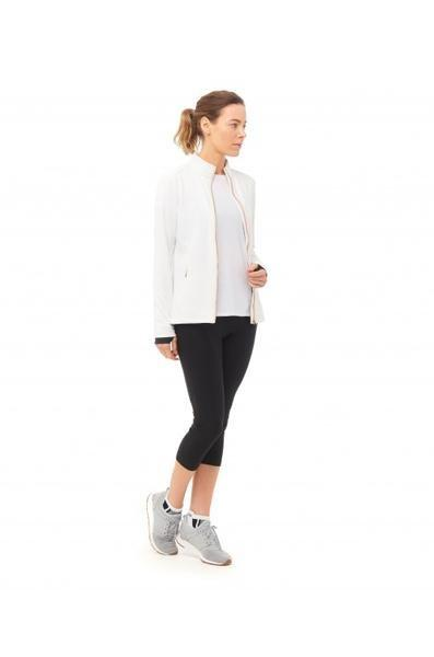 Resolve Jacket White - Boudavida