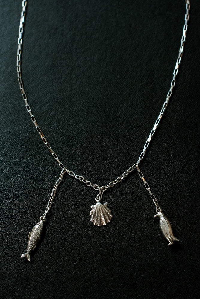 Sea Life Sterling Silver One-Of-A-Kind Necklace