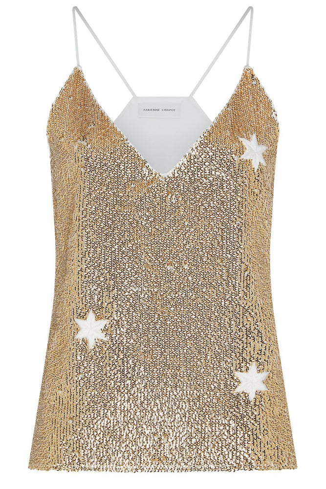 Sequin Top - Fabienne Chapot at The Bias Cut