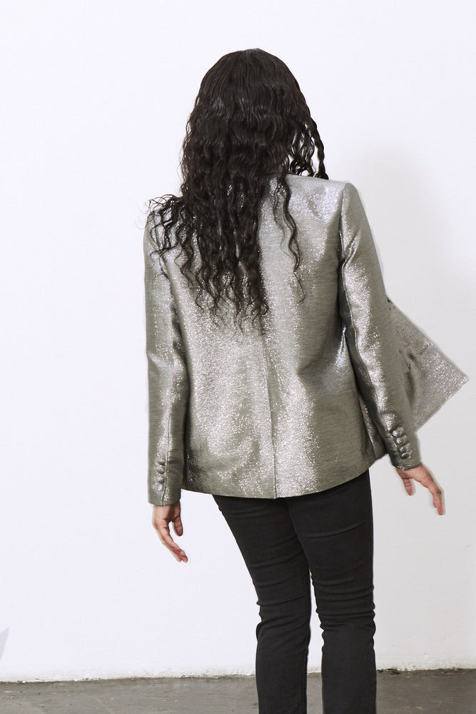 Load image into Gallery viewer, Silver Queen Blazer - Fabienne Chapot at The Bias Cut