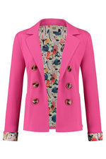 Smashing Pink Blazer - POM Amsterdam at The Bias Cut