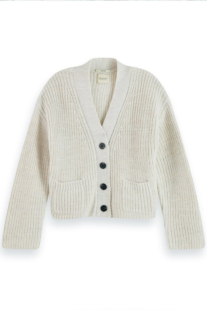 Soft Cardigan Rib Knit - Scotch & Soda