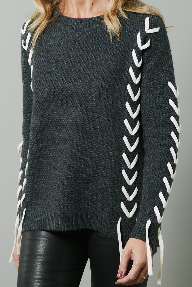 Soraya Merino Wool Jumper - Charli at The Bias Cut