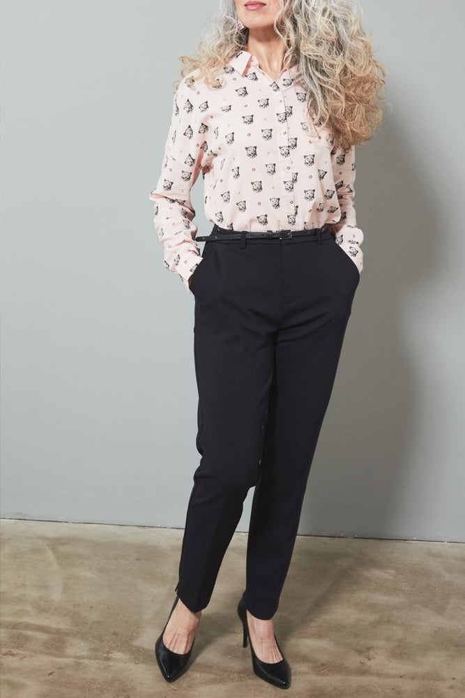 Stretch Tailored Trousers - Size L