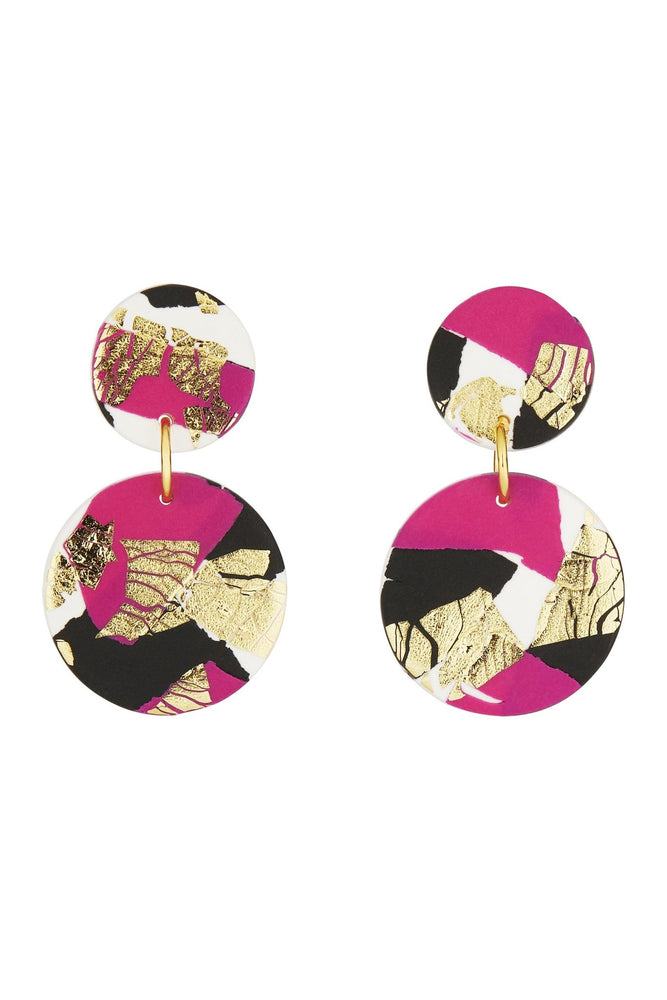 Fire & Flood Medium Earrings - No Shrinking Violet