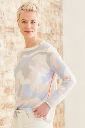 Load image into Gallery viewer, Summer Camo Knit - Size XL - Lisa Todd at The Bias Cut