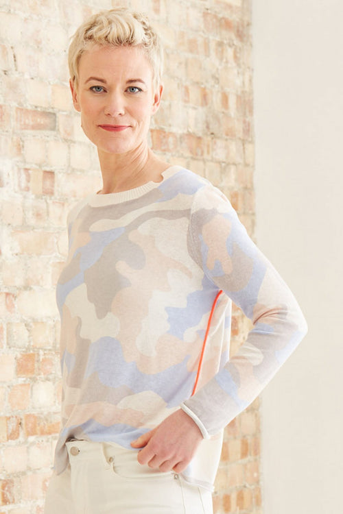 Summer Camo Knit - Lisa Todd