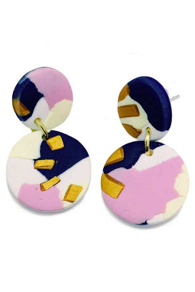 Summer Nights Small Earrings - No Shrinking Violet
