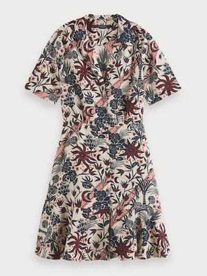 Summer Shirt Dress - Scotch & Soda at The Bias Cut