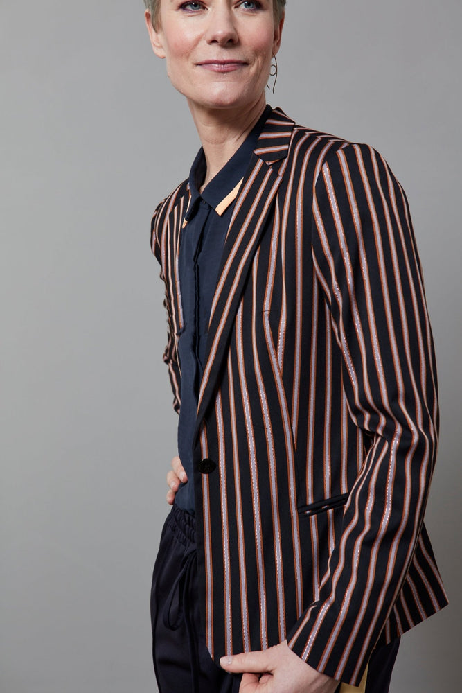 Tailored Blazer in Stripes and Solids