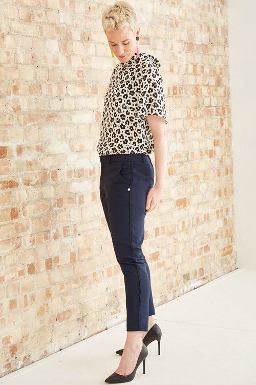 Tailored Stretch Trousers - Scotch & Soda