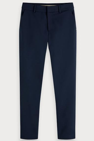 Load image into Gallery viewer, Tailored Stretch Trousers - Scotch & Soda at The Bias Cut