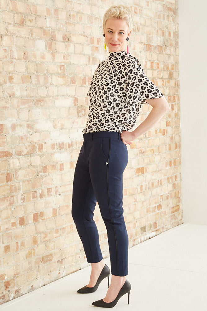 Tailored Stretch Trousers - Scotch & Soda at The Bias Cut